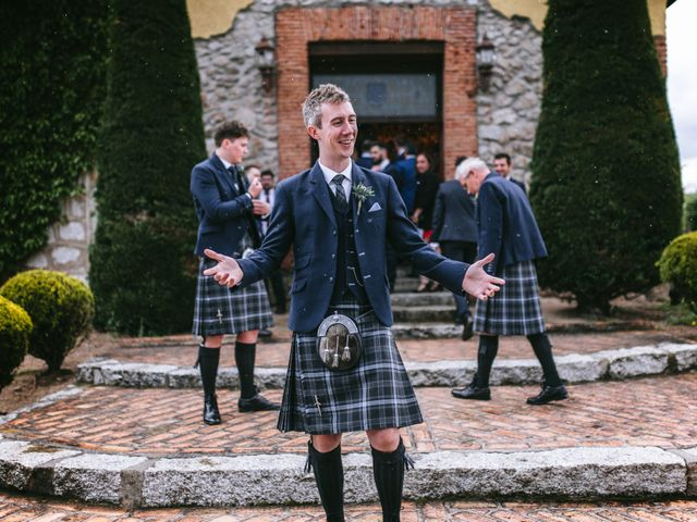 La boda de Graeme y Lara en Collado Villalba, Madrid 9
