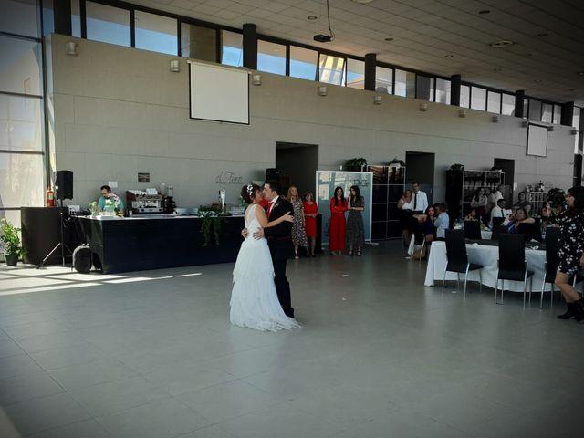 La boda de Alain y Almudena