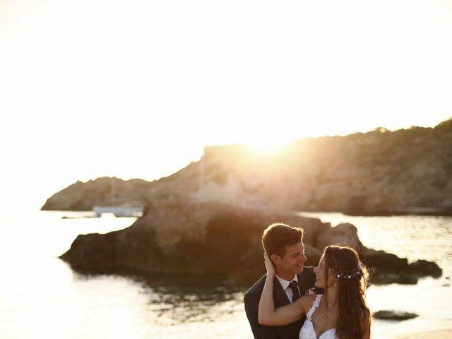 La boda de Nieves y Abel  en Cala Tarida, Islas Baleares 6