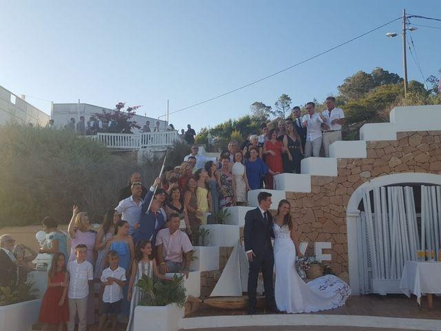 La boda de Nieves y Abel  en Cala Tarida, Islas Baleares 1