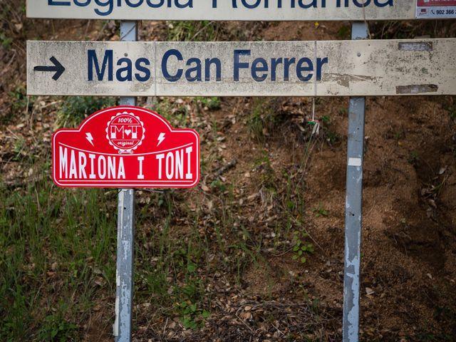 La boda de Toni y Mariona en Montseny, Barcelona 2