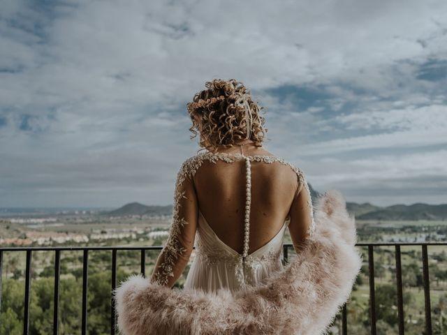 La boda de Joan y Flor en La Manga Del Mar Menor, Murcia 1