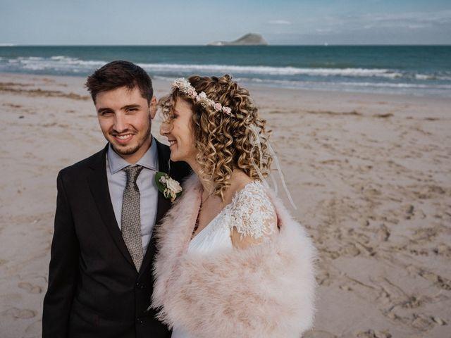 La boda de Joan y Flor en La Manga Del Mar Menor, Murcia 23