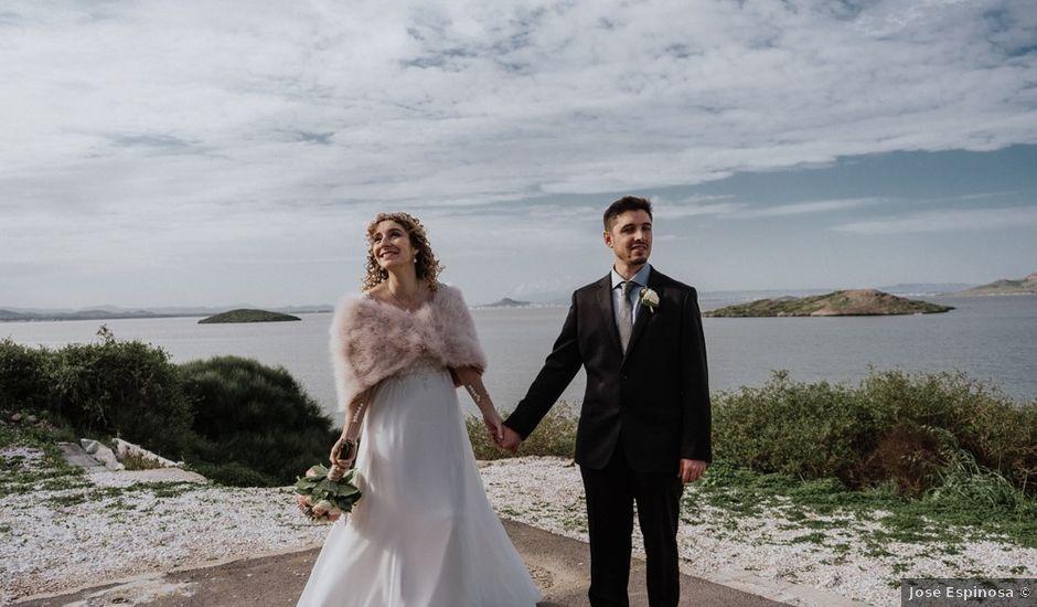 La boda de Joan y Flor en La Manga Del Mar Menor, Murcia