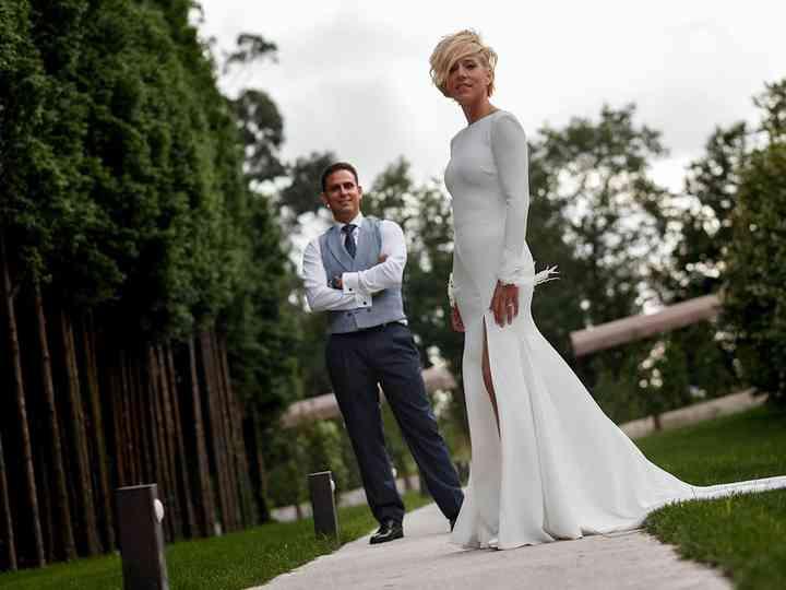 La boda de Elena y Alón