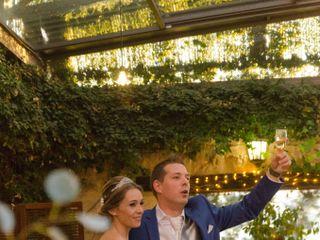 La boda de Cristina y Boudy