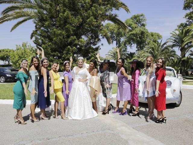 La boda de Juanma y Elena en Santiponce, Sevilla 20