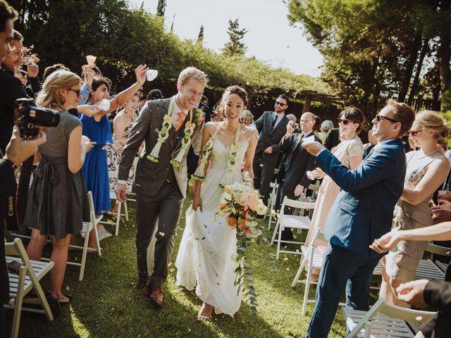 La boda de Audrey y Ross