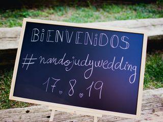 La boda de Judith y Fernando 1