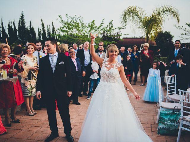 La boda de Rubén y Lorena en Paterna, Valencia 54