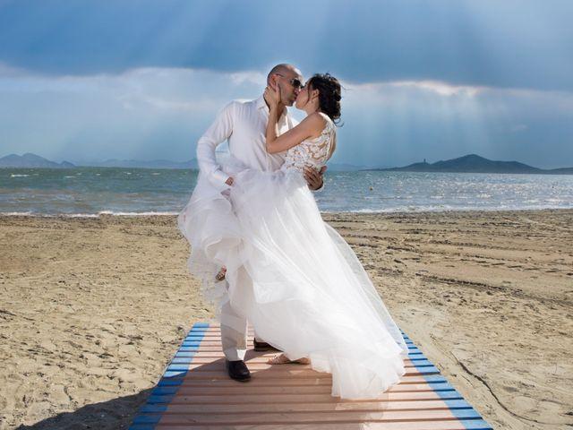 La boda de Zhivko y Xenia en La Manga Del Mar Menor, Murcia 1