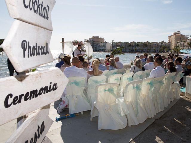 La boda de Zhivko y Xenia en La Manga Del Mar Menor, Murcia 11