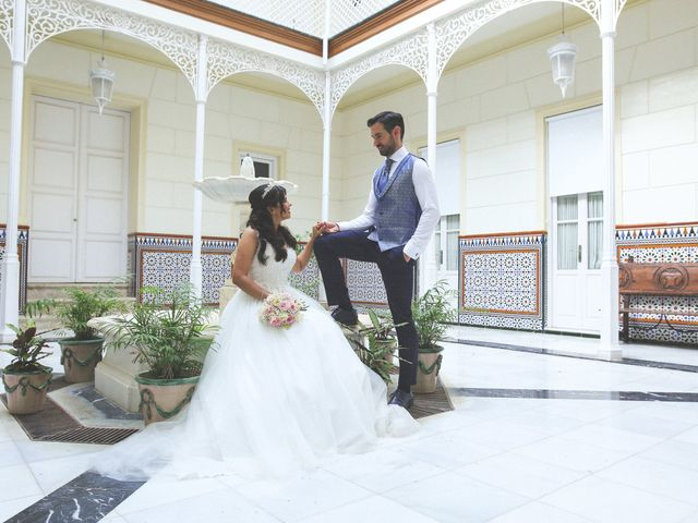 La boda de Ricardo y Carla en Málaga, Málaga 64