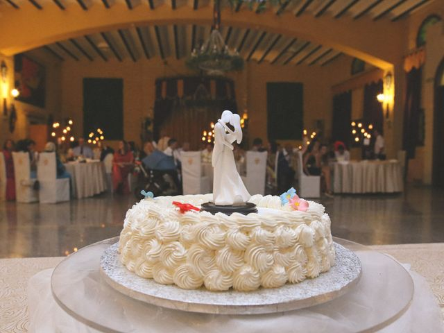 La boda de Ricardo y Carla en Málaga, Málaga 129