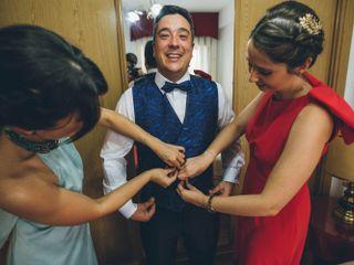 La boda de Eva y Juan Carlos 1