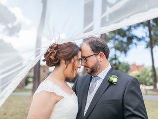 La boda de Ninoska y Javier