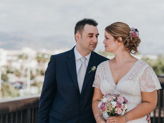 La boda de Jose y Mercedes en Retamar, Almería 43