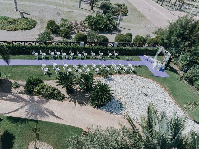 La boda de Jose y Mercedes en Retamar, Almería 46