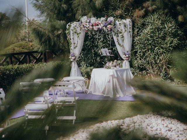 La boda de Jose y Mercedes en Retamar, Almería 52