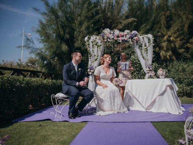 La boda de Jose y Mercedes en Retamar, Almería 57