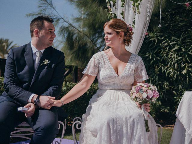 La boda de Jose y Mercedes en Retamar, Almería 61