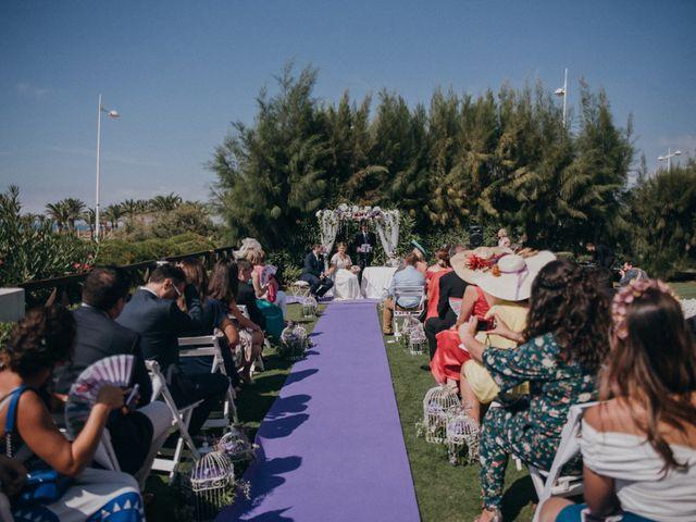 La boda de Jose y Mercedes en Retamar, Almería 63