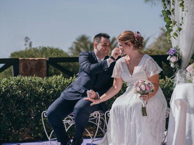 La boda de Jose y Mercedes en Retamar, Almería 64