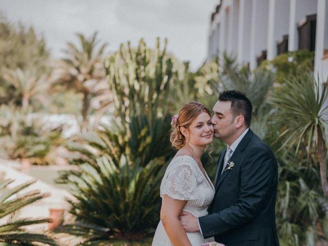 La boda de Jose y Mercedes en Retamar, Almería 77