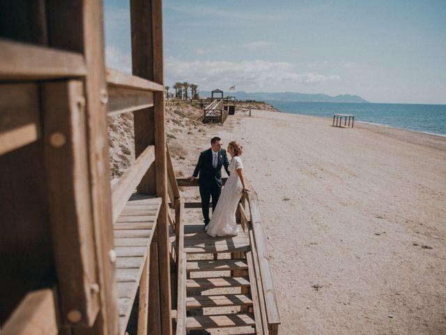 La boda de Jose y Mercedes en Retamar, Almería 92