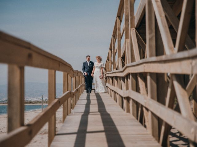 La boda de Jose y Mercedes en Retamar, Almería 96