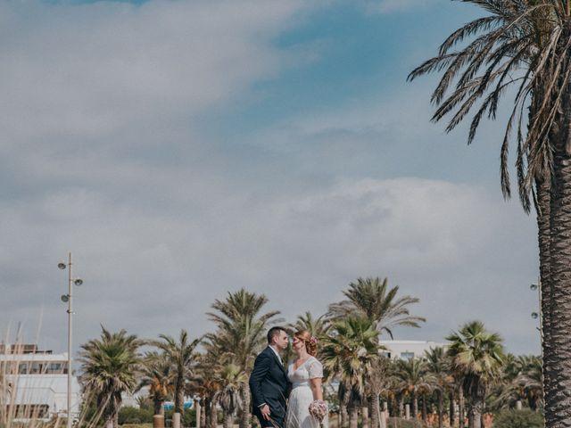 La boda de Jose y Mercedes en Retamar, Almería 98