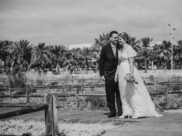 La boda de Jose y Mercedes en Retamar, Almería 101