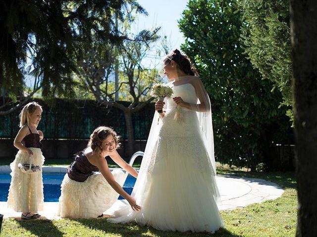 La boda de Ferran y Anna en La Vall De Bianya, Girona 39