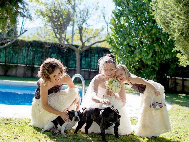 La boda de Ferran y Anna en La Vall De Bianya, Girona 41