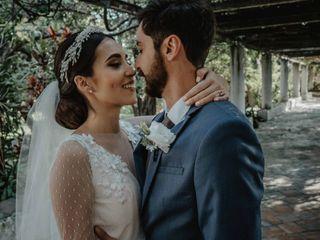 La boda de Claudette y Arturo