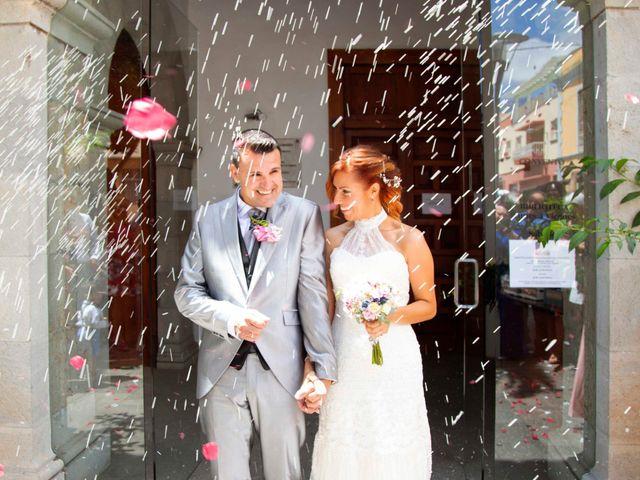 La boda de Jorge y Dácil en Villa De Arico, Santa Cruz de Tenerife 16