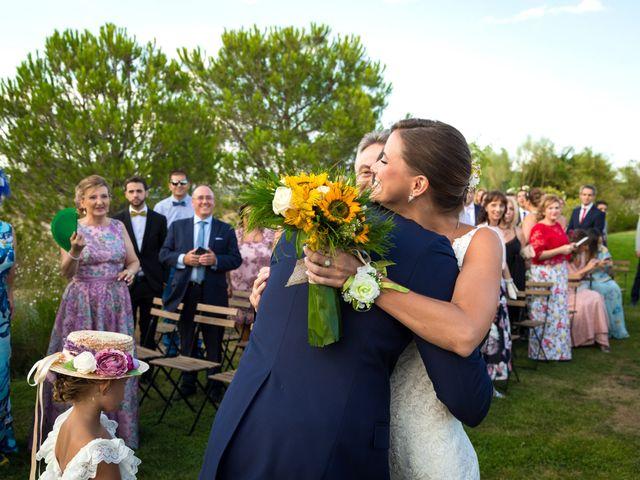 La boda de Jose y Irene en San Agustin De Guadalix, Madrid 17