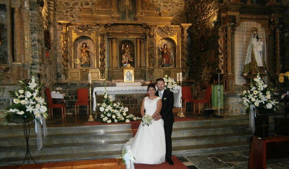 La boda de Oscar  y Vero  en El Fresno (Grado), Asturias