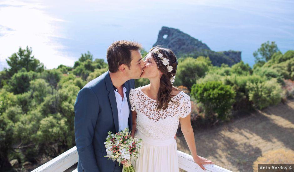 La boda de Simon y AnaÏs en Deià, Islas Baleares