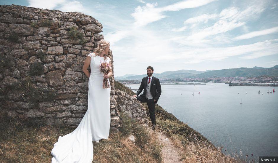 La boda de Haritz y Janire en Getxo, Vizcaya