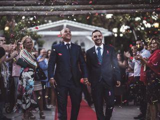 La boda de Johan  y Jonay