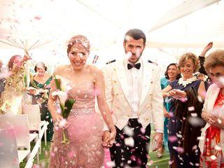 La boda de Aurora y Kino 1