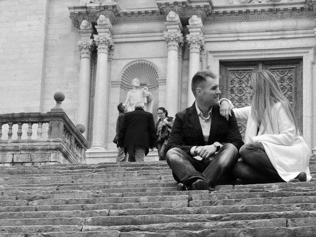 La boda de Dani y Vanessa en Santa Coloma De Farners, Girona 1