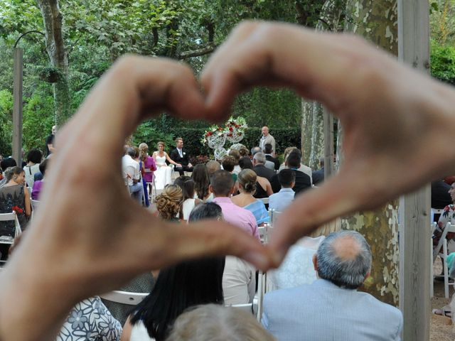 La boda de Dani y Vanessa en Santa Coloma De Farners, Girona 25