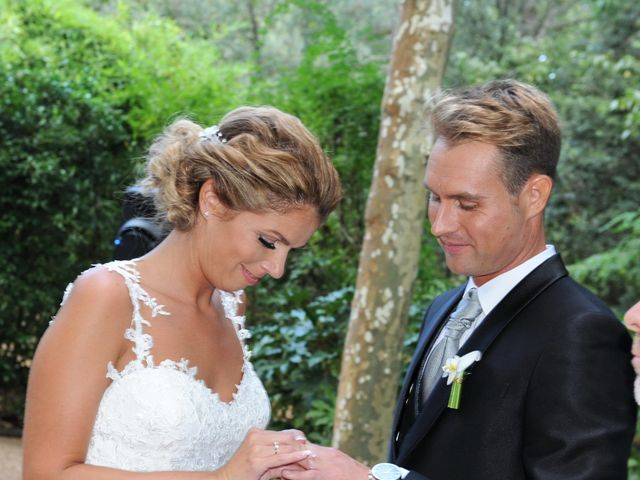 La boda de Dani y Vanessa en Santa Coloma De Farners, Girona 27
