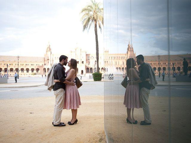 La boda de Kino y Aurora en Sevilla, Sevilla 3