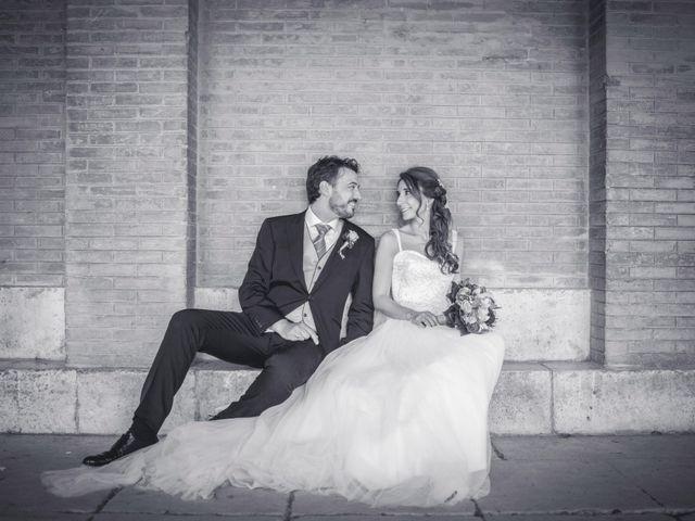 La boda de Pablo y Lola en Aranjuez, Madrid 1