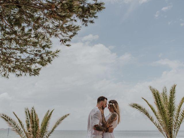 La boda de David y Alba en La Manga Del Mar Menor, Murcia 16