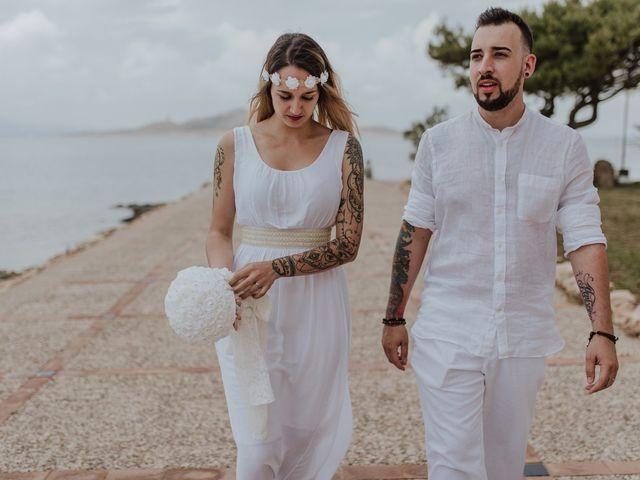 La boda de David y Alba en La Manga Del Mar Menor, Murcia 19