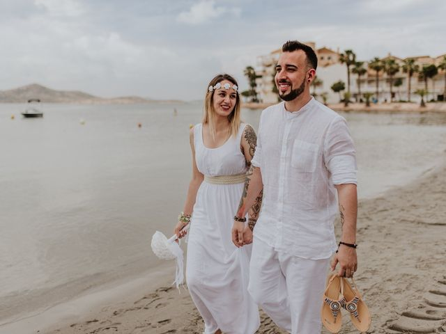 La boda de David y Alba en La Manga Del Mar Menor, Murcia 20